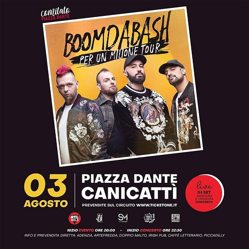 Concerto Boomdabash